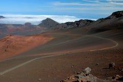 Rastro de Haleakala imagen de archivo libre de regalías