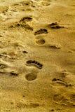 Rastro de la arena Imagen de archivo libre de regalías