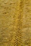 Rastro de la arena Foto de archivo libre de regalías