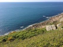 Rastro de la costa Fotografía de archivo libre de regalías