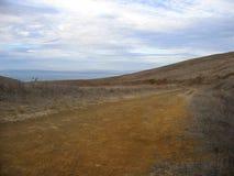Rastro de la costa costa Fotos de archivo