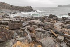 Rastro de la costa este de la playa fotos de archivo libres de regalías