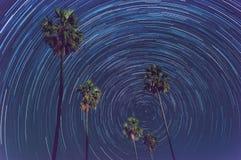 Rastro de la estrella Foto de archivo libre de regalías