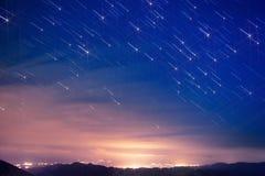 Rastro de la estrella Imágenes de archivo libres de regalías