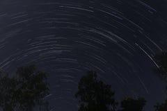 Rastro de la estrella Fotos de archivo