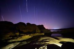 Rastro de la estrella Fotografía de archivo libre de regalías