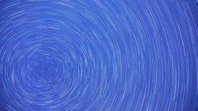 Rastro de la estrella Tirado en St Petersburg almacen de video