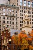 Rastro de la libertad de Boston fotografía de archivo