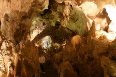 Rastro de los visitantes de las cavernas de Carlsbad Fotos de archivo