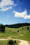 Rastro de montaña Foto de archivo libre de regalías