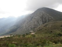 Rastro de montaña Fotos de archivo
