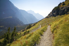 Rastro de montaña Foto de archivo