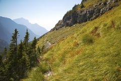 Rastro de montaña Fotografía de archivo libre de regalías