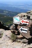 Rastro de montaña Imagenes de archivo
