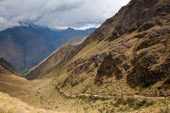 Rastro de montaña Fotos de archivo libres de regalías