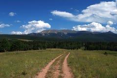 Rastro de montaña de Colorado Imágenes de archivo libres de regalías