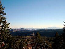 Rastro de montaña de Jemez Fotografía de archivo libre de regalías