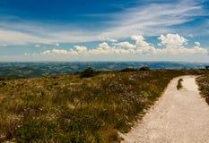 Rastro de montaña en Ibitipoca imagen de archivo