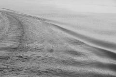 Rastro del agua Fotos de archivo libres de regalías