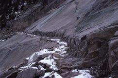 Rastro del desierto Imagen de archivo libre de regalías