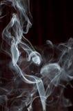 Rastro del humo fotografía de archivo