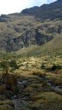 Rastro del inca, en la manera a Machu Picchu Imagen de archivo