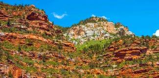 Rastro del norte de Kaibab en el parque nacional de Grand Canyon, Arizona, los Estados Unidos de América imagenes de archivo