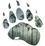 Rastro del oso libre illustration