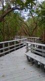 Rastro del parque de la Florida Foto de archivo libre de regalías