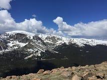 Rastro del parque nacional de la montaña de Ricky Foto de archivo libre de regalías