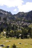 Rastro del yermo de Montana Fotos de archivo