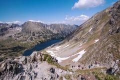 Rastro en el Tatra Mountais Imagen de archivo libre de regalías