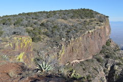 Rastro externo del lazo de la montaña en parque nacional de la curva grande imagen de archivo