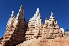Rastro famoso de Navajo en el barranco de Bryce Fotografía de archivo