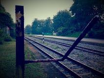 Rastro ferroviario de Bukit Timah Fotografía de archivo libre de regalías