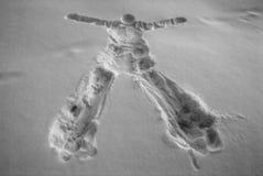 Rastro humano Imágenes de archivo libres de regalías