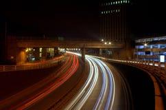 Rastro ligero en Newcastle Foto de archivo
