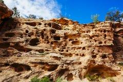Rastro magnífico del lavado, parque nacional del filón capital, Utah, los E.E.U.U. Imagen de archivo libre de regalías