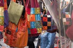 Rastro, open markt in Madrid Stock Afbeelding