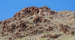 Rastro Tucson Arizona del paso de las puertas fotos de archivo libres de regalías