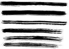 Rastros de cepillo Fotografía de archivo libre de regalías