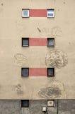 Rastros de guerra en Sarajevo Imagen de archivo libre de regalías