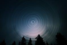 Rastros de la estrella Fotos de archivo libres de regalías