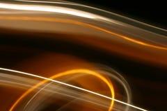 Rastros de la luz en el movimiento Imagenes de archivo