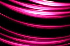 Rastros de la luz en un fondo oscuro Imagen de archivo