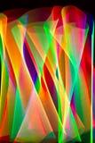 Rastros de luz Fotografía de archivo libre de regalías
