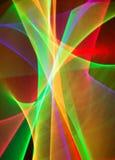 Rastros de luz Foto de archivo libre de regalías