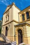 Rastros de Varsovia judía - sinagoga Foto de archivo