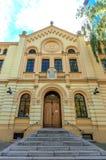 Rastros de Varsovia judía - sinagoga Fotografía de archivo