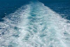 Rastros del agua Fotos de archivo libres de regalías
